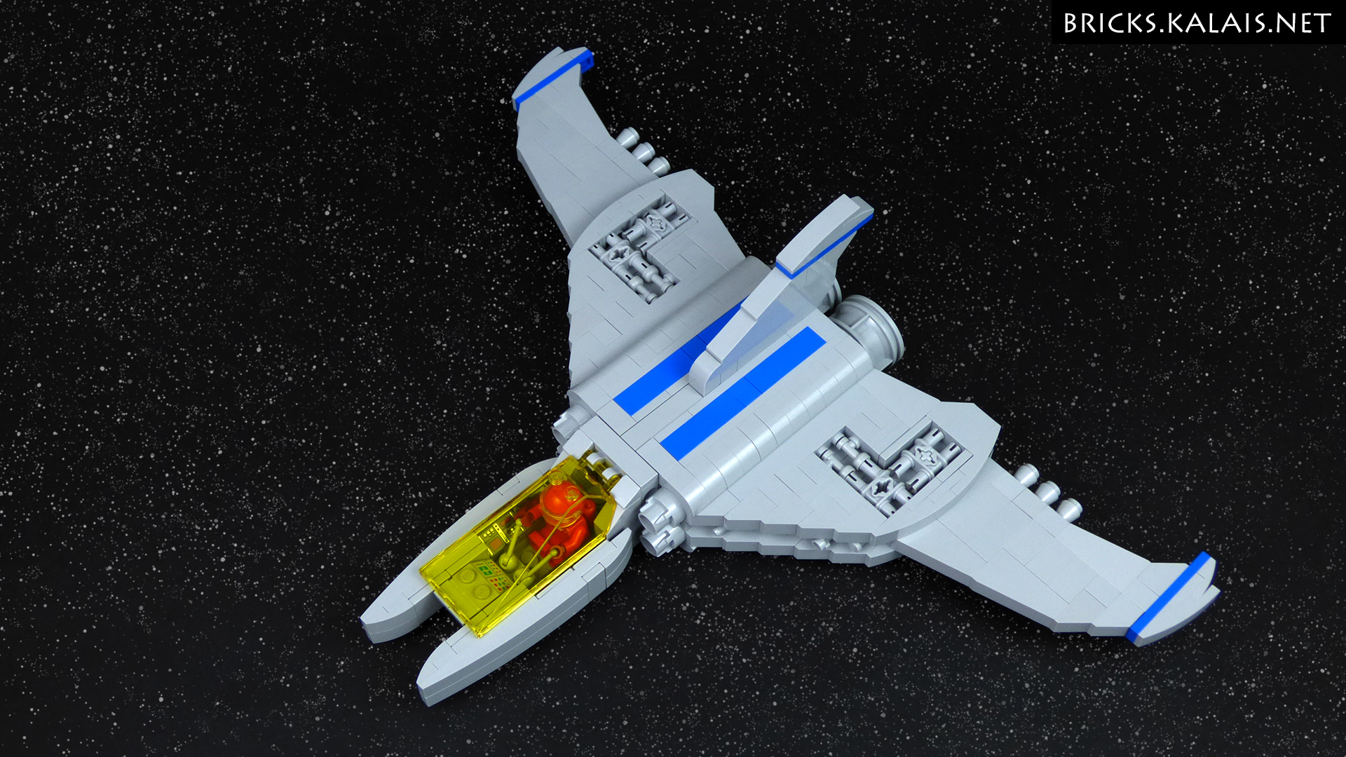 MOC BV 334 Spaceship Bricks Treasure LEGO Blog
