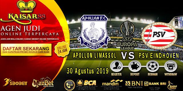 Prediksi Bola Terpercaya Liga UEFA Europa Apollon Limassol vs PSV 30 Agustus 2019