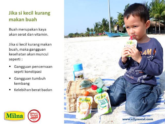 solusi mudah makan buah untuk si kecil