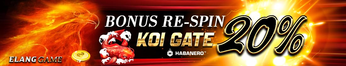 BONUS RE-SPIN KOI GATE HABANERO