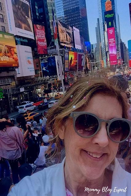 Times Square Janis Brett Elspas Mommy Blog Expert