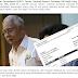 Bukti Dokumen Jutaan Wang Masuk Ke Dalam Akaun Bank Najib..Sebarkan