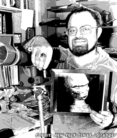 Stan (Young) with Alien