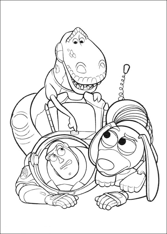 Crayola Giant Coloring Pages Toy Story  Coloring Page