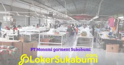 Lowongan Kerja PT Monami Sukabumi 2021
