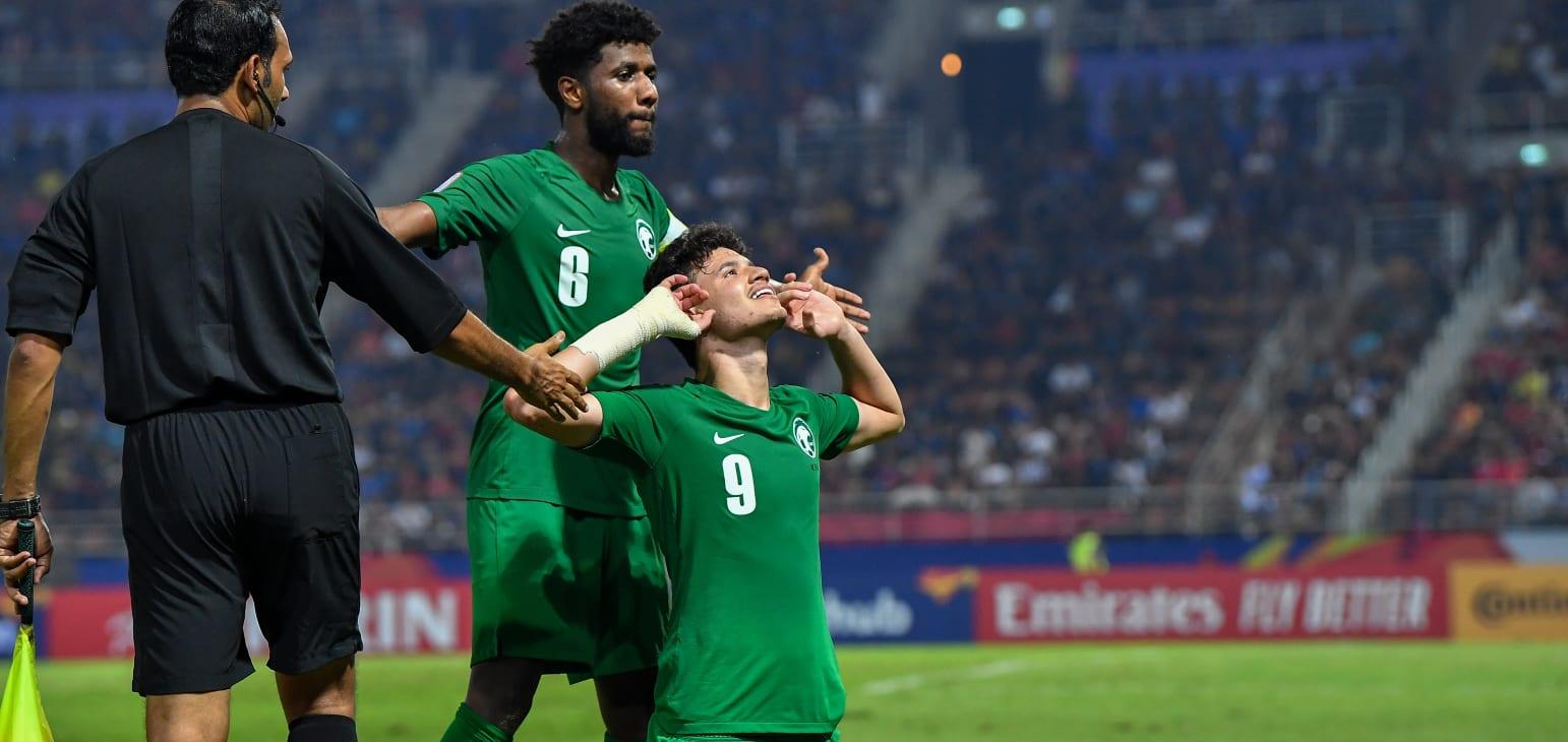 Al-Hamdan scored the winner against Thailand in the quarterfinal. 01.18.20
