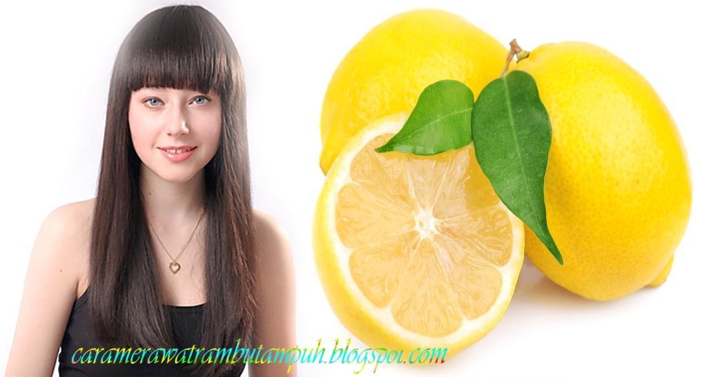 Manfaat Lemon Untuk Kesehatan Rambut