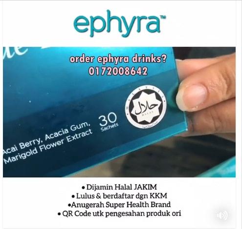 EPHYRA COLLAGEN DRINK: 600x Hebat Dari Vitamin C, 550x Hebat Dari Vitamin E!
