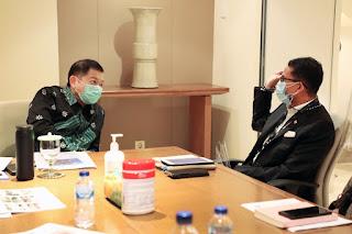 Menteri Suharso Menyampaikan Rencana Induk Destinasi Pariwisata Nasional (RIDPN)