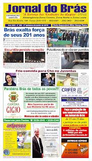 Destaques da Ed. 365 - Jornal do Brás