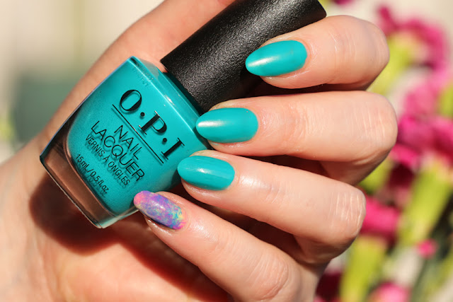 OPI Dance Party Teal Dawn
