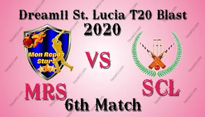 Who will win MRS vs SCL 6th T10 Match