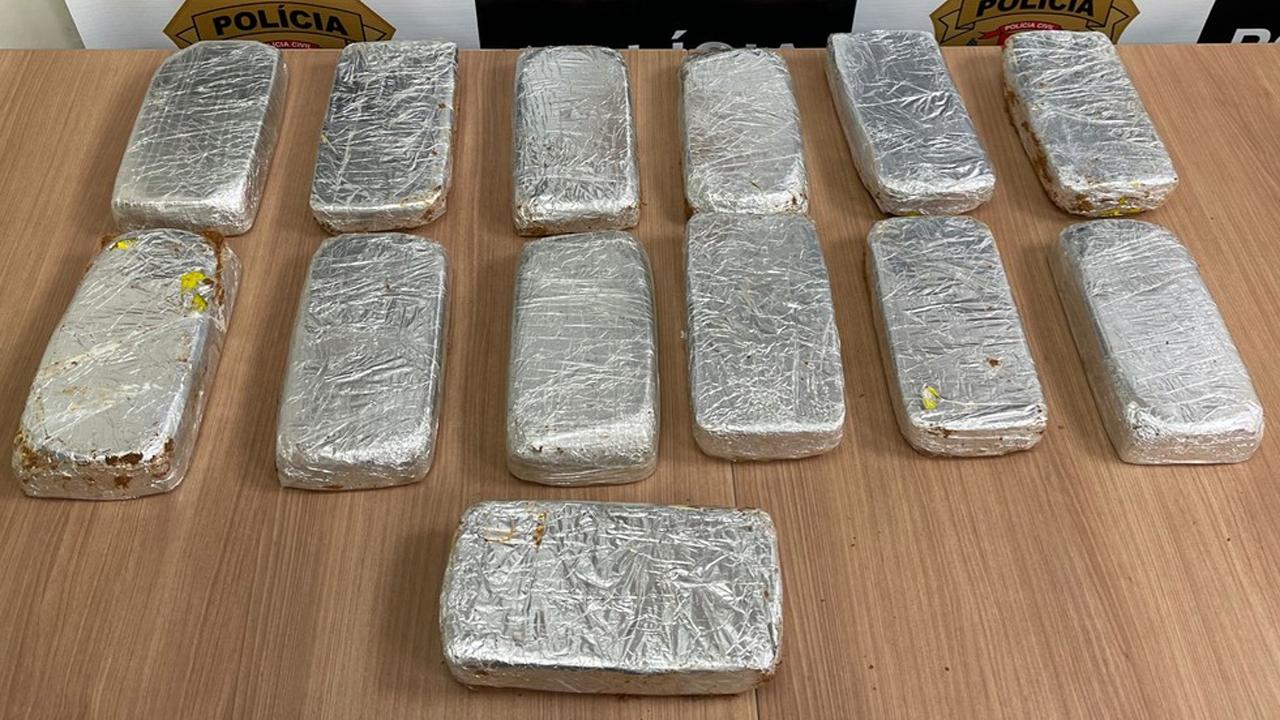 Boliviano é preso em Americana com 13 tijolos de crack avaliados em R$ 360 mil