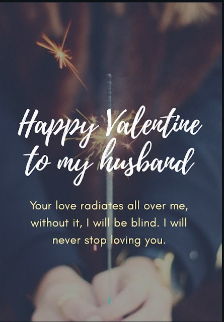 Valentine messages for husband with images