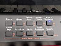 Samick SG120/SG500 voice & memory buttons