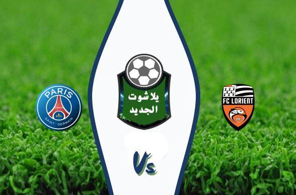 نتيجة مباراة باريس سان جيرمان ولوريان اليوم الأحد 19-01-2020 كأس فرنسا
