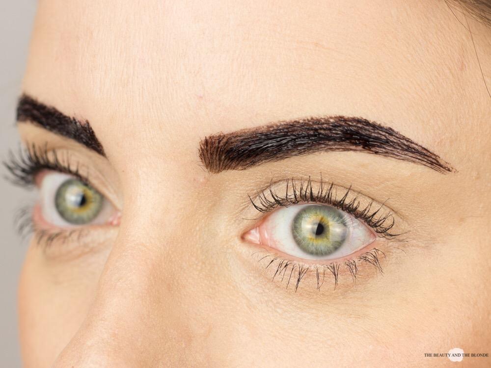 Maybelline Tattoo Brow Augenbrauen Aufgetragen