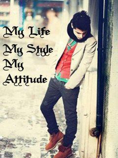 Download My liFe My RulEs 240 X 320 Wallpapers - 2793539 ... |My Life My Rules Wallpapers For Girls For Fb