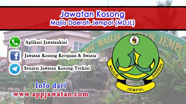 Jawatan Kosong di Majlis Daerah Jempol (MDJL)