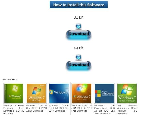 كيفية تحميل نسخة ويندوز 7 على الكمبيوتر من رابط واحد مباشر