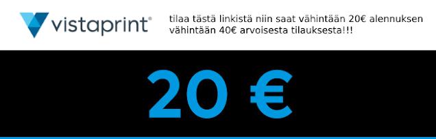 Vistaprint Alennuskoodi 2020