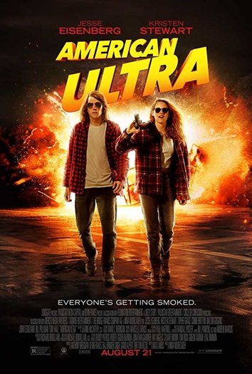 American Ultra 2015 BRRip 480p Dual Audio Hindi 300MB