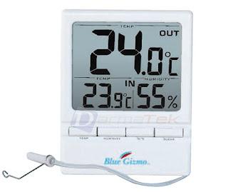 Darmatek Jual Blue-Gizmo BG HT-03 Digital Thermo-Hygrometer With External Probe