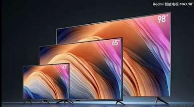 98 इंच स्क्रीन साइज Redmi TV Max 4K स्मार्ट टीवी