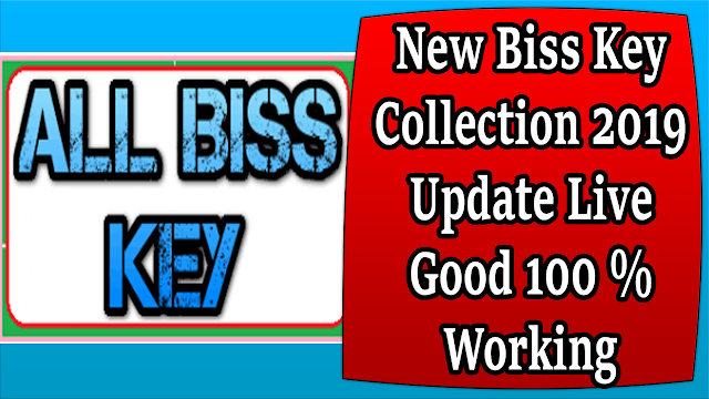 New Biss Key Collection 2019 Update Live Good 100 % Working
