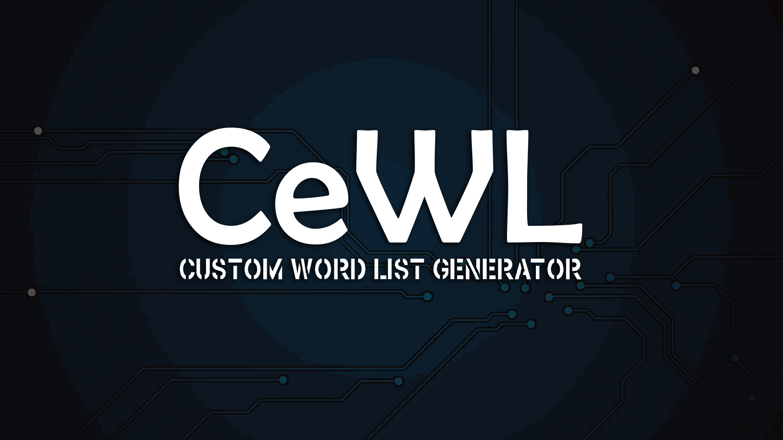 CeWL - Custom Word List Generator