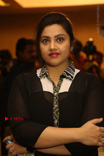 Tamil Actress Meena Latest Stills in Black Dress at TSR TV9 Awards Press Meet  0045.JPG