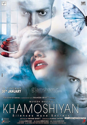 Khamoshiyan 2015 Hindi DVDRip 480p 300mb Esub