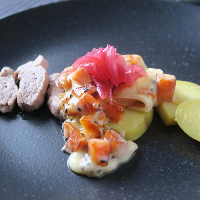 Ibericofilet mit Süßkartoffeln à la Raclette | pastasciutta.de