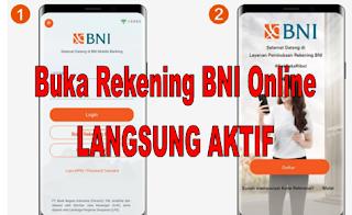 Cara Buka Rekening BNI Online 2020 Langsung Aktif