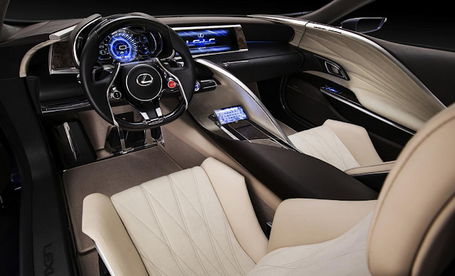 2017 Lexus LF-LC Interior Design