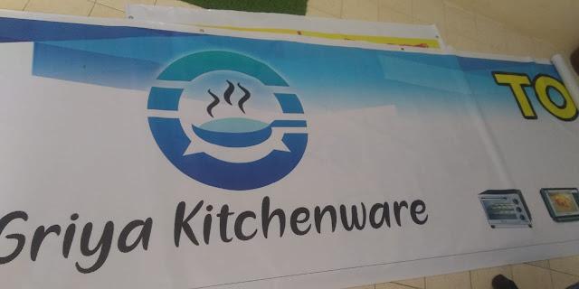 Spanduk Toko Griya Kitchenware