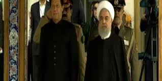 Message of Pakistan to Iran During the Meeting of Imran Khan and Hassan Rohani