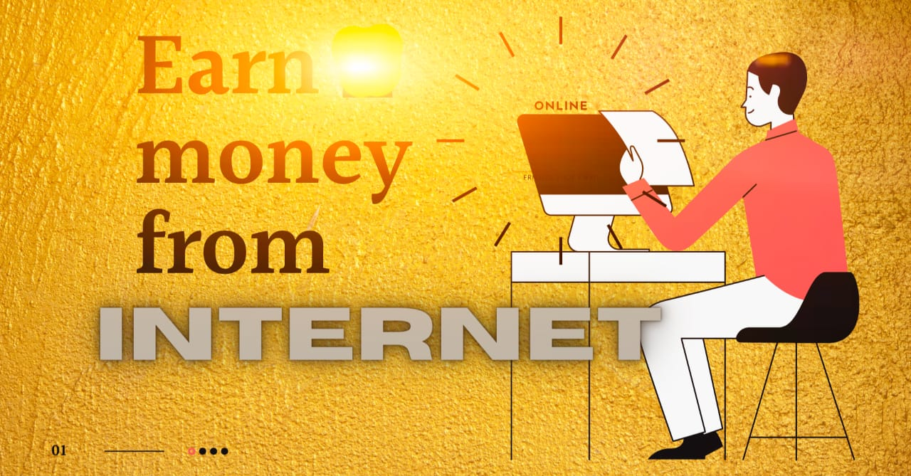Ways to make money from the internet 🔥
