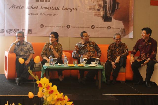 Germas: Mata Sehat Investasi Bangsa Indonesia