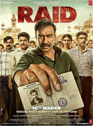Raid 2018 Full Hindi Movie Download BRRip 720p