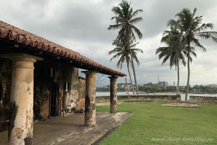 Старое здание Шри-Ланки