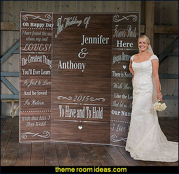 Custom Rustic Romance Photo Background