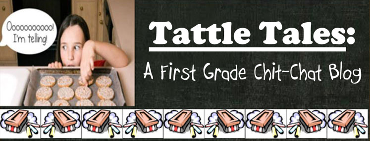 Tattle Tales: A First Grade Chit-Chat Blog