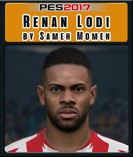 PES 2017 Faces Renan Lodi by Sameh Momen