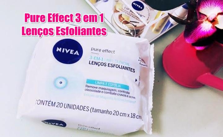 Lenços Esfoliantes Pure Effect Nivea