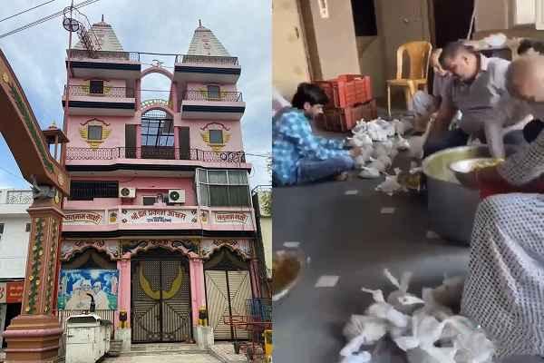 shri-prem-prakash-ashram-distribute-foods-1200-people-in-old-faridabad