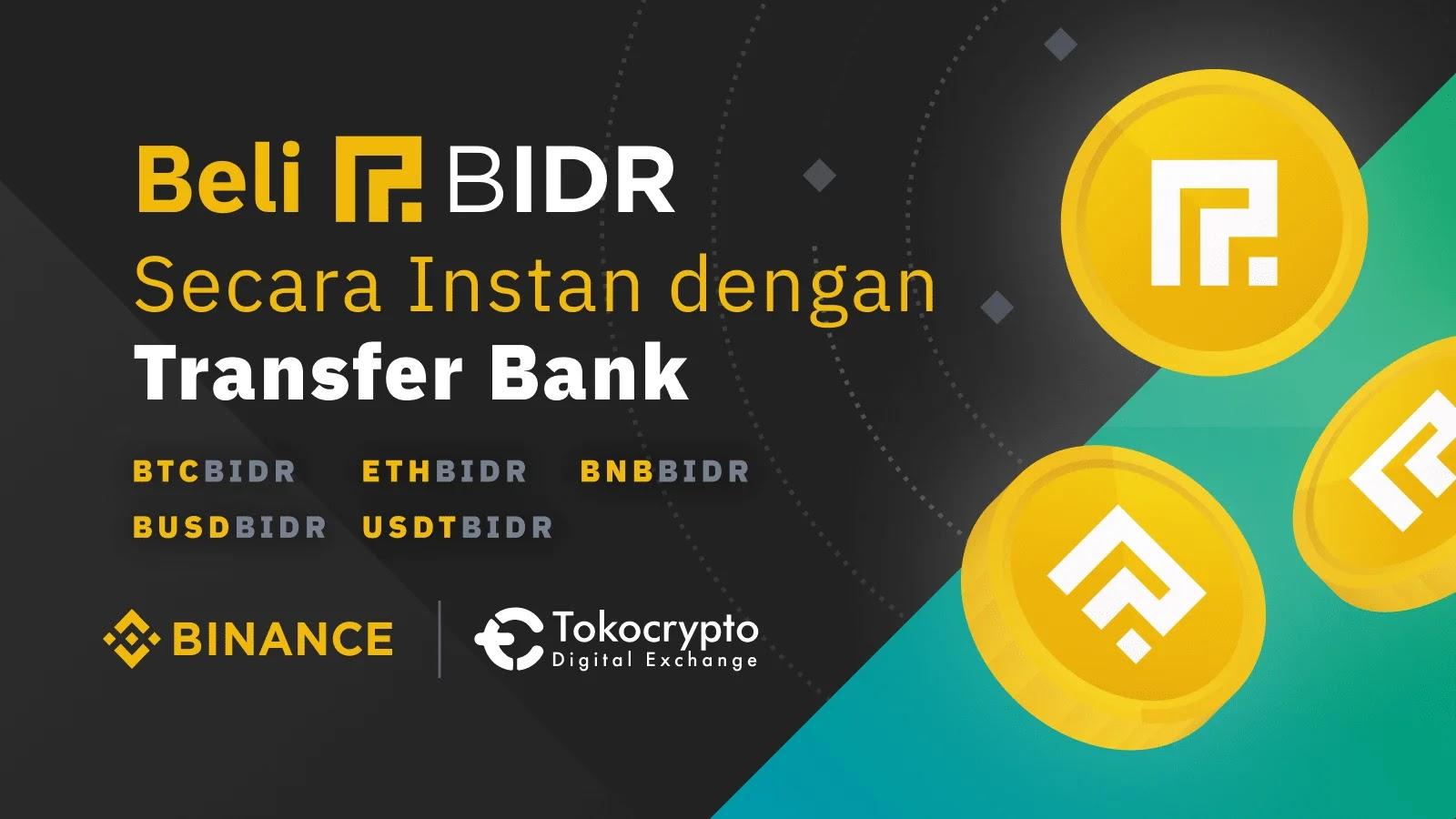 Cara Deposit Binance Dari Tokocrypto