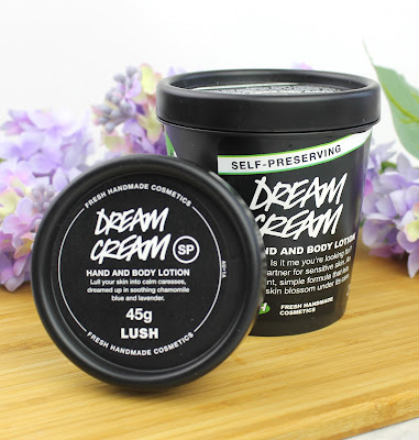 Lush Dream Cream Self-Preserving review hand and body lotion