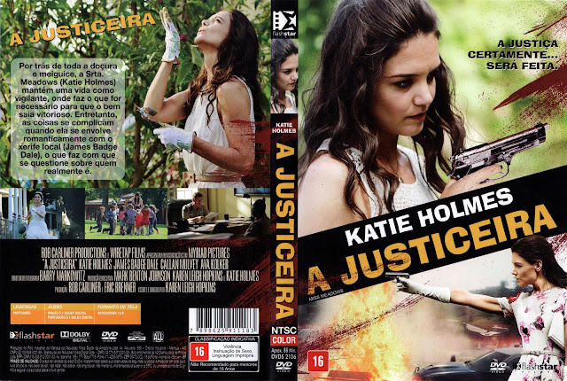 Capa DVD A Justiceira