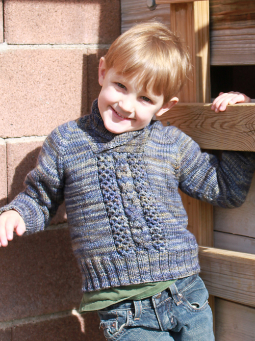Child's Cable Pullover